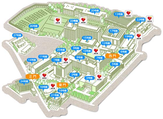 上智 大学 キャンパス マップ